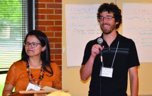 Leidy Munoz (Left) and Jordan Penner (Right)