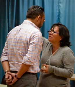 Rebeca Torresanoints Saul Padilla, MCC US Immigration Education Coordinator