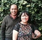 Fernando Perez and Rebeca Gonzales Torres